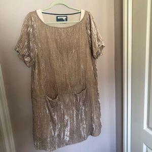 Floreat by Anthropologie velvet dress